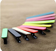 Candy-color Duckbill Edge Clip Hairpins