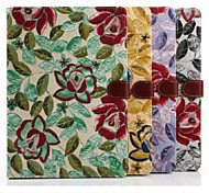 Floral Pattern Fabric Material with Hard Back Case for iPad Air /iPad 5 (Assorted Colors)
