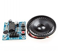 ISD1820 Audio Sound Recording Module w/ Microphone / Speaker