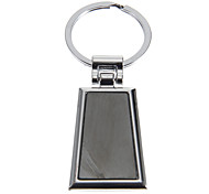 Trapezoid Photo-attachable Key Ring