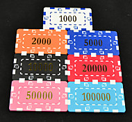 Mahjong Box Apply to 43mm Texas Hold'Em Poker Mahjong Chips Arcylic Frame Toys