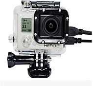 Gopro Hero 3 Side Hole Protection Shell Contains Classical Transparent Color Lenses