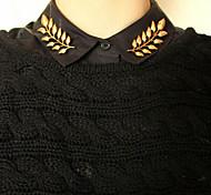 shixin® Mode goldenen Blattform Brosche (1 Paar)