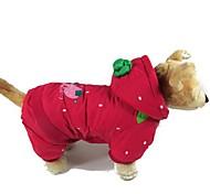 Abrigos para Perros / Gatos Invierno S / M / L / XL Algodón