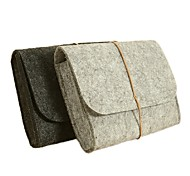 Concise Design Wool Felt Storage Bag for MacBook Charger (Assorted Colors)