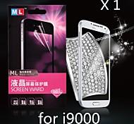 Diamant-Anti-Strahlen-Displayschutzfolie für Samsung i9000 s (1pcs)