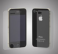 Angibabe 0.3mm Explosion Proof Real Tempered Glass Film Guard Set with Cleaning Cloth for iPhone 4/4S