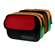 ROSWHEEL 1L 600D Polyester and PVC Colorful Waterproof Cycling Frame Bag