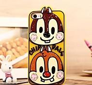 Squirrel Design Silicone Soft Case for iPhone 5/5S