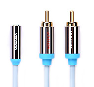 3.5mm macho a audio 16.4ft 5m cable femenino