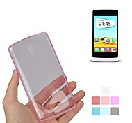 Angibabe Ultra Slim Jelly TPU Soft Gel Transparent Protector Case for OPPO R2001