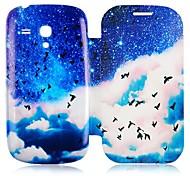 casebox ® mew Meer und blauer Himmel Muster Ganzkörper-Fall für Samsung Galaxy S3 i8190 Mini