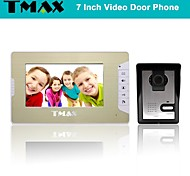 "TMAX® 7"" LCD Video Door Phone Doorbell Home Entry Intercom with 500TVL Night Vision Camera"