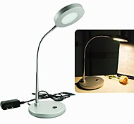 H+LUX™ LED 5W 18x2835SMD 400lm CRI>80 3000K Warm White Desk Lamp (AC220-240V ~ DC20V)