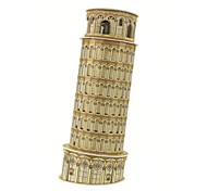3D Puzzles The Leaning Tower of Pisa Model for Children and Adult Educational Toys(8PCS)