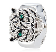 Women's Crystal Tiger Style Alloy Quartz Ring Watch (Assorted Colors) Cool Watches Unique Watches