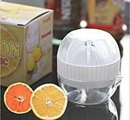 Oval Shaped Mini Manumotive Plastic Manual Juicers(Random Color x1pcs)