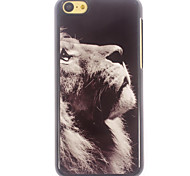 Lion Pattern Aluminium Hard Case for iPhone 5C