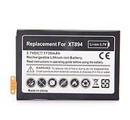 1735mah batería de iones de litio recargable para Motorola Droid 4 XT894