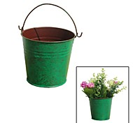 Creative Restoring Ancient Ways, Simple Green Tin Bucket