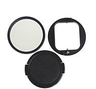 yuanbotong kit de filtro de 58mm impermeable cpl buceo con tapa del objetivo para Hero GoPro 3 (1pcs)