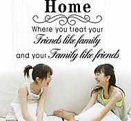 Doudouwo ® Worte und Zitate Die Familie Wandsticker