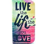live life Meer Muster weiche Tasche für Samsung Galaxy i8262 Kern