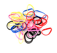 Loom Bands Small Size Multicolor Rubber Band C For Kids (35 pcs)