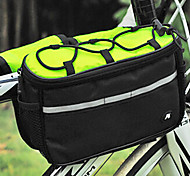 Bike Frame Bag Cycling/Bike For Multifunctional , Green , Polyester)