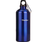 Thinker 550ml Blue Stainless Steel Outdoor Cycling Water Bottle