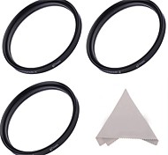 67MM Star Filter Set :4-Point, 6-Point, and 8-Point Star Filters + Cleaning Cloth