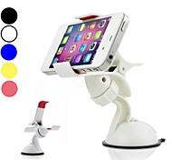 DF 5 Colors Universal 360 Degree Rotation Windshield Car Mount Holder for iPhone and Other Phones
