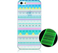 National Pattern Fluorescence after Sunniness Hard Back Case for iPhone 4/4S