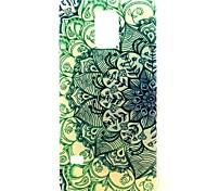 El gradiente de flores Patrón de plástico duro caso para el mini Galaxy Samsung S5
