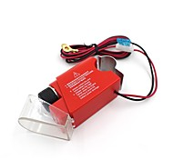 Motorcycle Mobile Phone Charger USB Car Cigarette Lighter -Red + Black