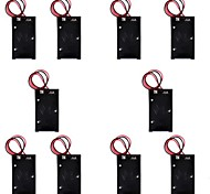 Hotsale CM01 Professional Capless DIY 9V Battery Holder Case Box with Leads/Line(10 PCS)
