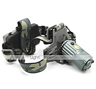 LT-XL0287 Zoom 3 Modes 1xCree XML T6 Bike Led Headlight(1000LM.2x18650.Green)