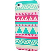 VORMOR® Highsound Triangle Striped Beauty Design Hard Back Shell Case Cover for iPhone4/4s