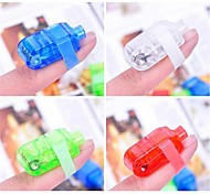Colorful LED Laser Finger Light  (4 pcs)