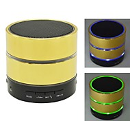 Bluetooth V3.0 USB TF Card FM Microphone Super Bass Portable Speaker