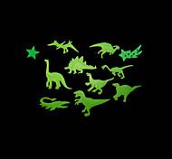 lumières maison romantique de nuit absorptiométrique stickers dinosaure