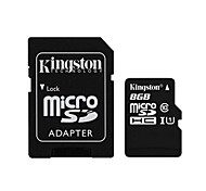 Kingston 8GB microSDXC Class 10 Flash Memory Card with SD Adapter
