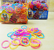 Z&X®  Loom Bands Mosquito Repellent(Rubber Band 200PCS、Recycle Crochet Hook、Recycle S Hook、Instructions)