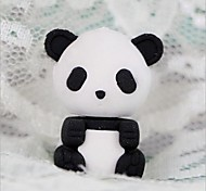 Cute Detachable Panda Shaped Eraser (Random Color x 2 PCS)