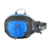 MOUNTAINTOP 8L Terylene Blue Outdoor Enhanced Breathability Cycling Waist Bag Chest Bag