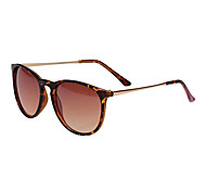 Unisex Vintage Round Frame Metal Material Thin Legs Sunglasses