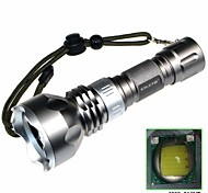 LED Flashlights/Torch Mode 900 Lumens Waterproof / Rechargeable / Impact Resistant / Nonslip grip Cree XM-L T6 18650Camping/Hiking/Caving