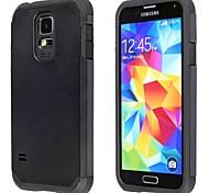 moda fondello protettiva armatura sottile superiore per Samsung Galaxy S5 i9600 (colori assortiti)