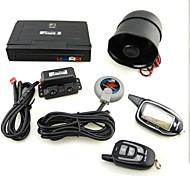 M7 Russian Version Two-Way Car Alarm System - Black