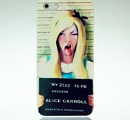 Funny Tongue Girl Pattern Case for iPhone 4/4S